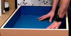 Песочница для песочной терапии – это рабочий инструмент.